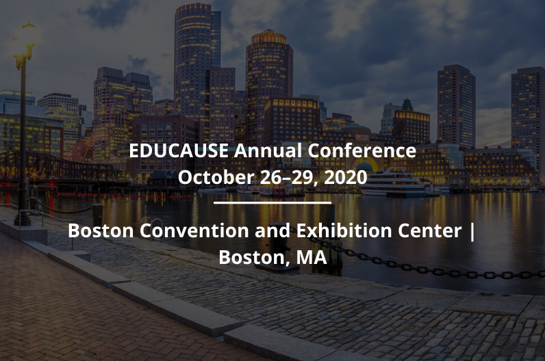 Educause Annual Conference 2020