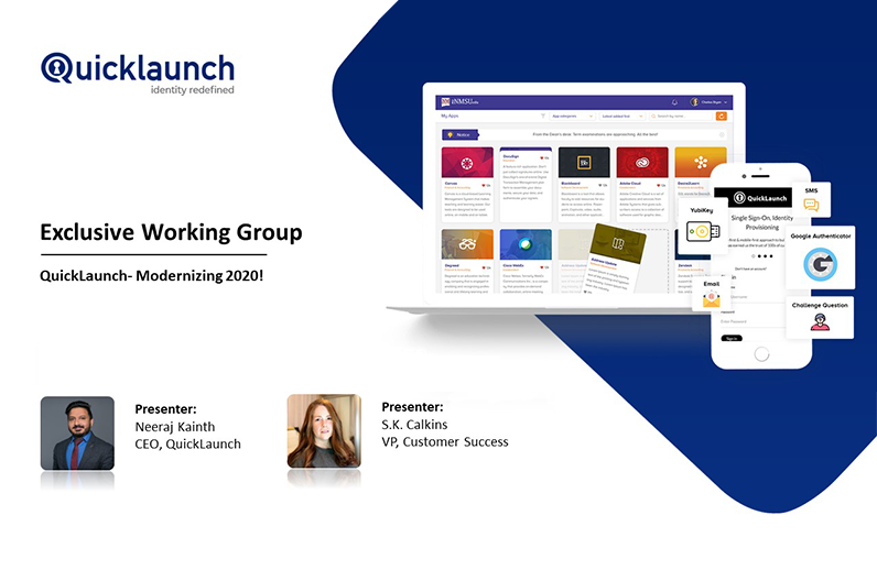 QuickLaunch - Modernizing 2020!
